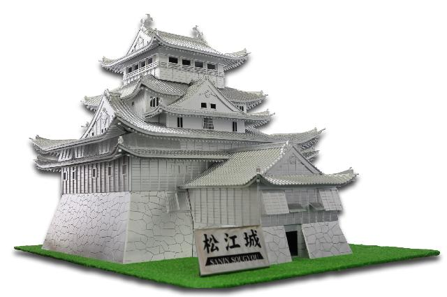 オールスチール製 松江城(自社製)