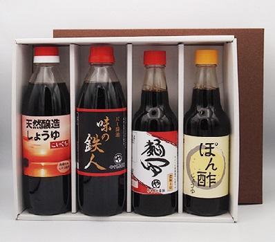 島根県産丸大豆醤油商品