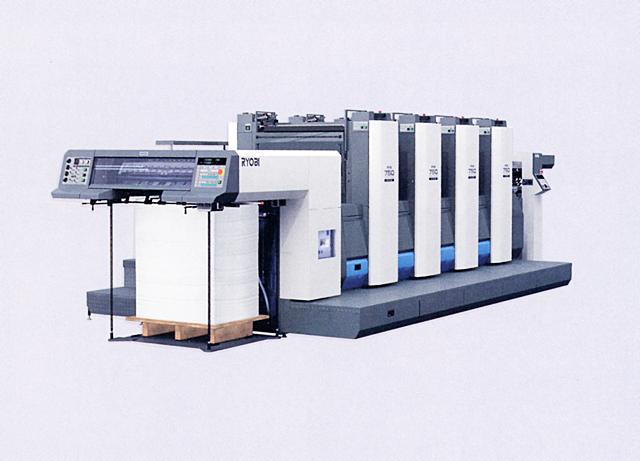 B2判四色印刷機