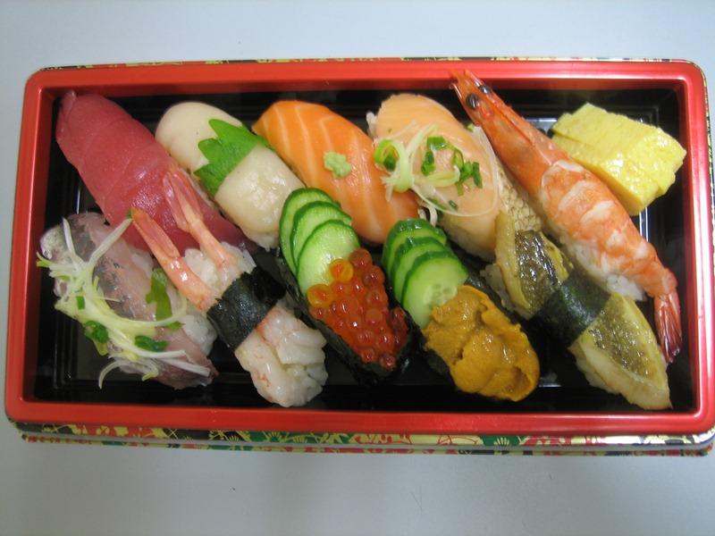 にぎり寿司ネタ各種
